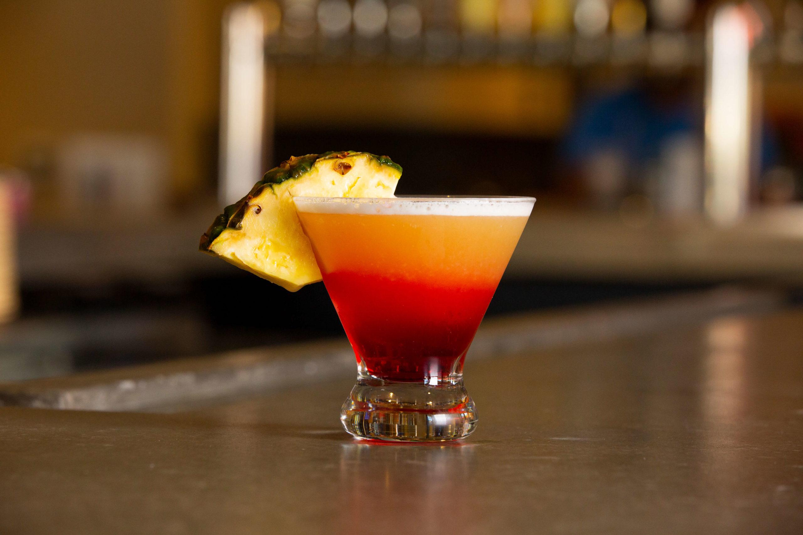 Pineapple Upside-Down Cake Martini